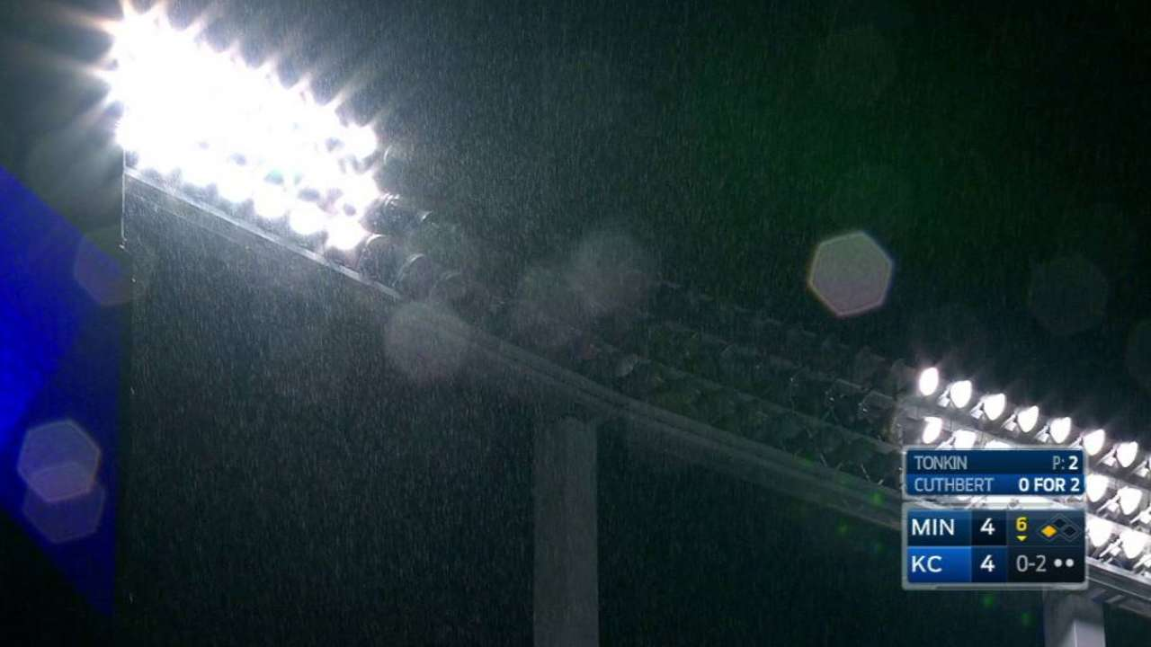 Lights go out in Kansas City