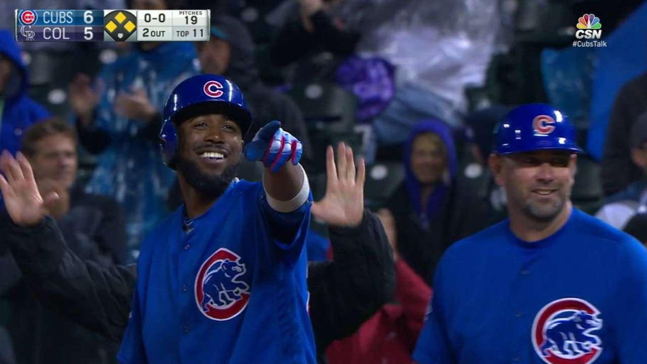 Cubs' streak ends despite Fowler's feats