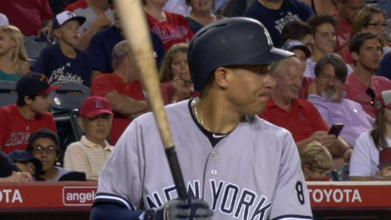 Torreyes answers Yankees' call