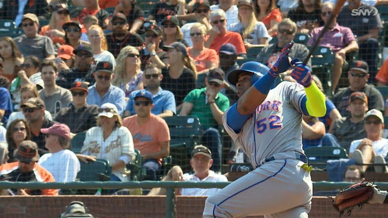 Cespedes' two-homer game