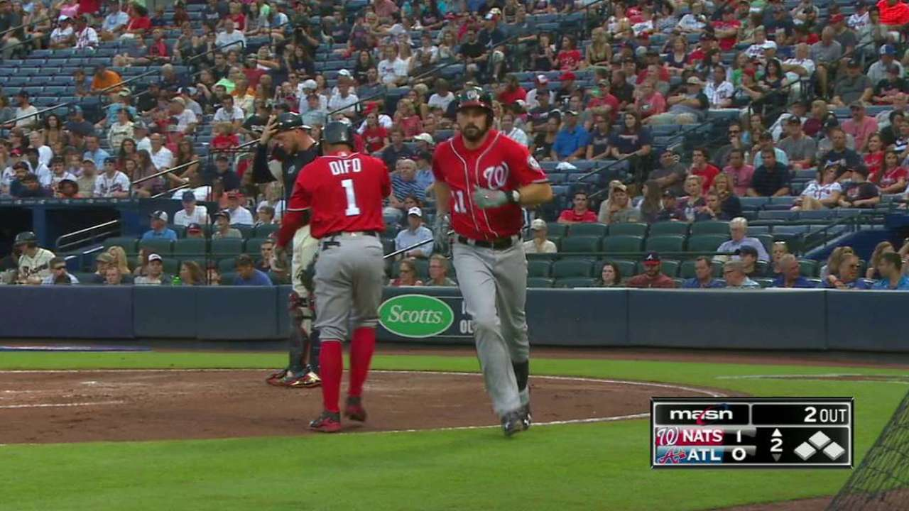 Zimmerman's solo homer to left
