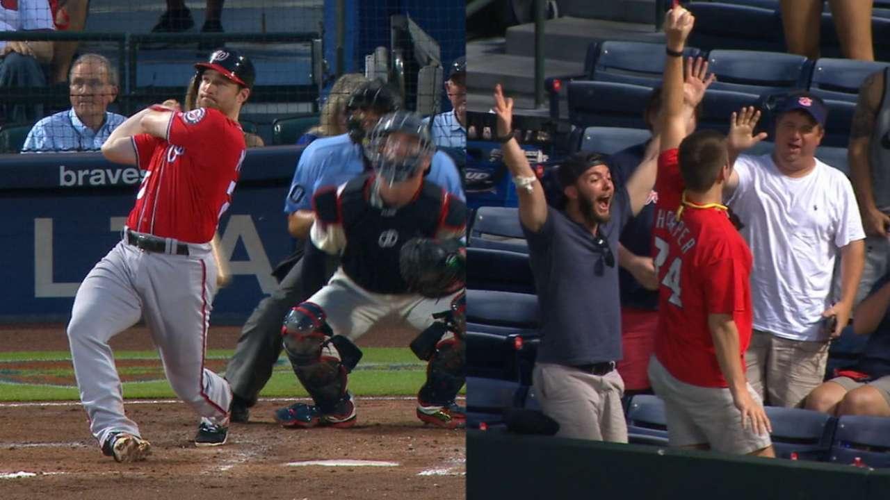 Fan hauls in Murphy's solo homer