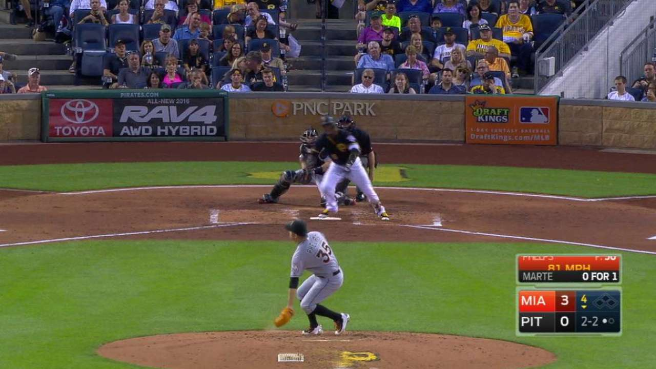 Yelich Hits Early Homer as Marlins Top Pirates 3-2 for Sweep