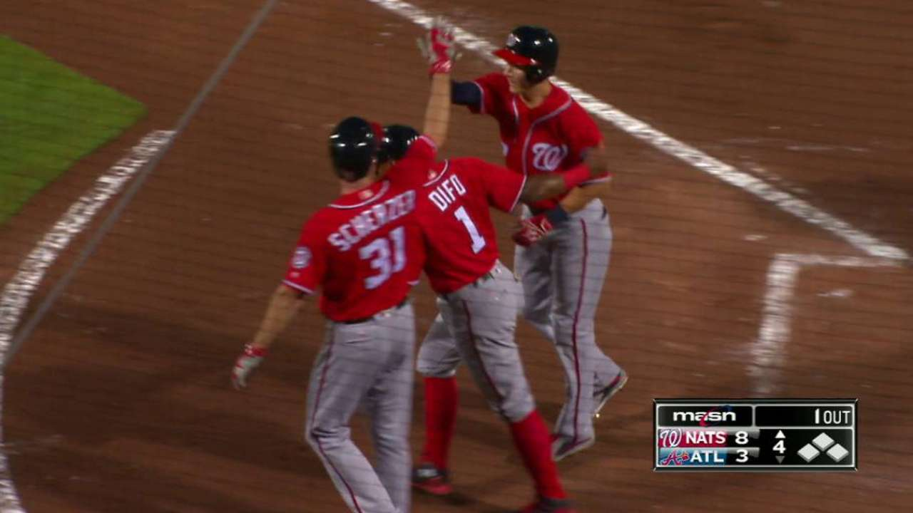 Turner's three-run dinger