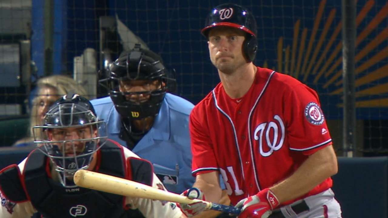 Nationals' eight-run 4th inning