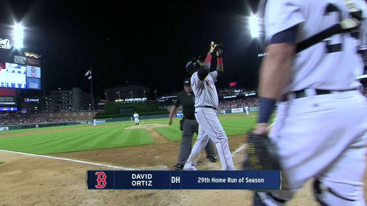Papi joins Ted, Yaz as only Sox with 1,500 RBIs