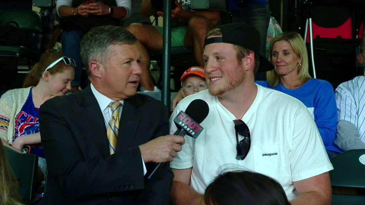 Hoffman's brother interviewed