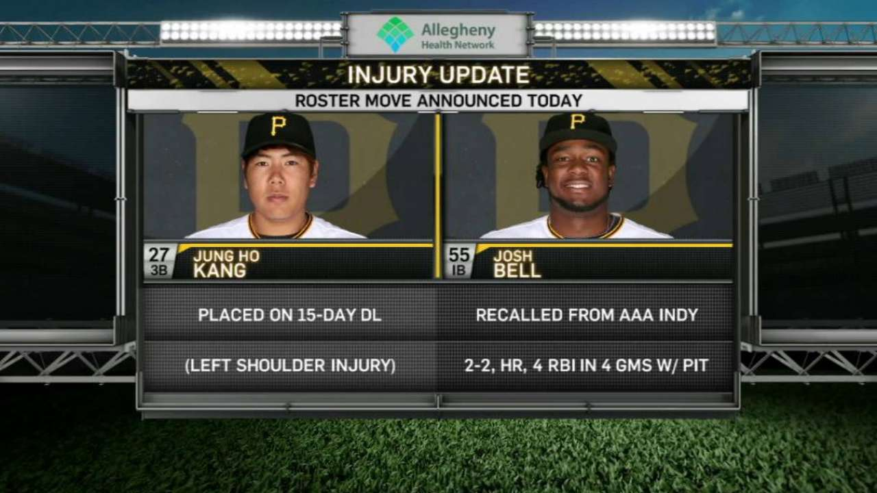 Kang likely out 2-4 weeks with shoulder injury