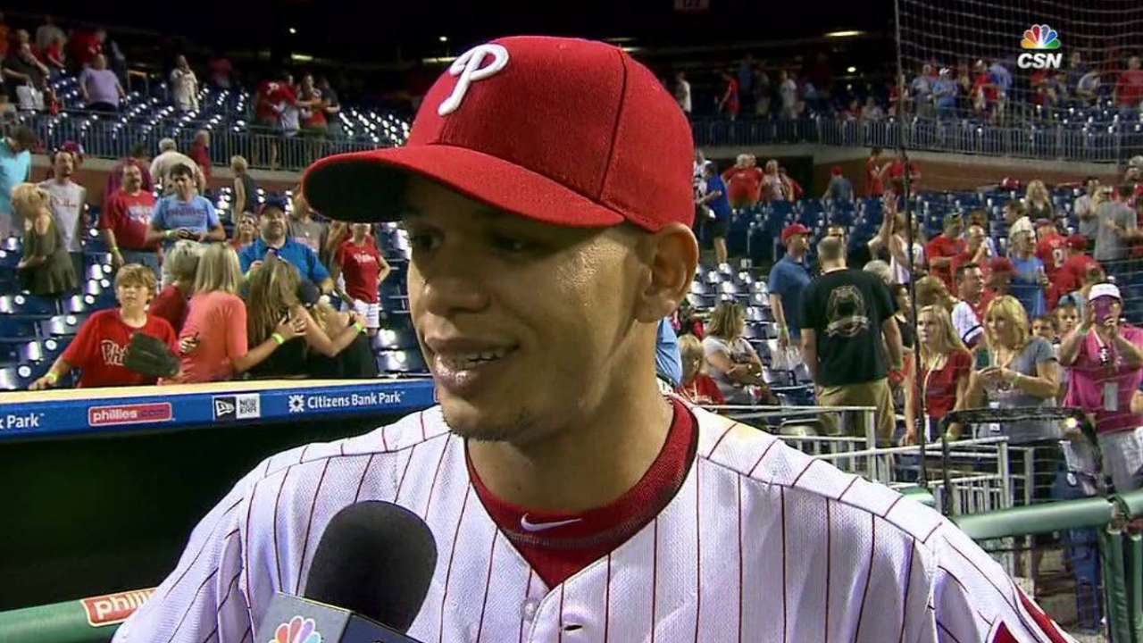 Salad days: Cesar on pace for career year