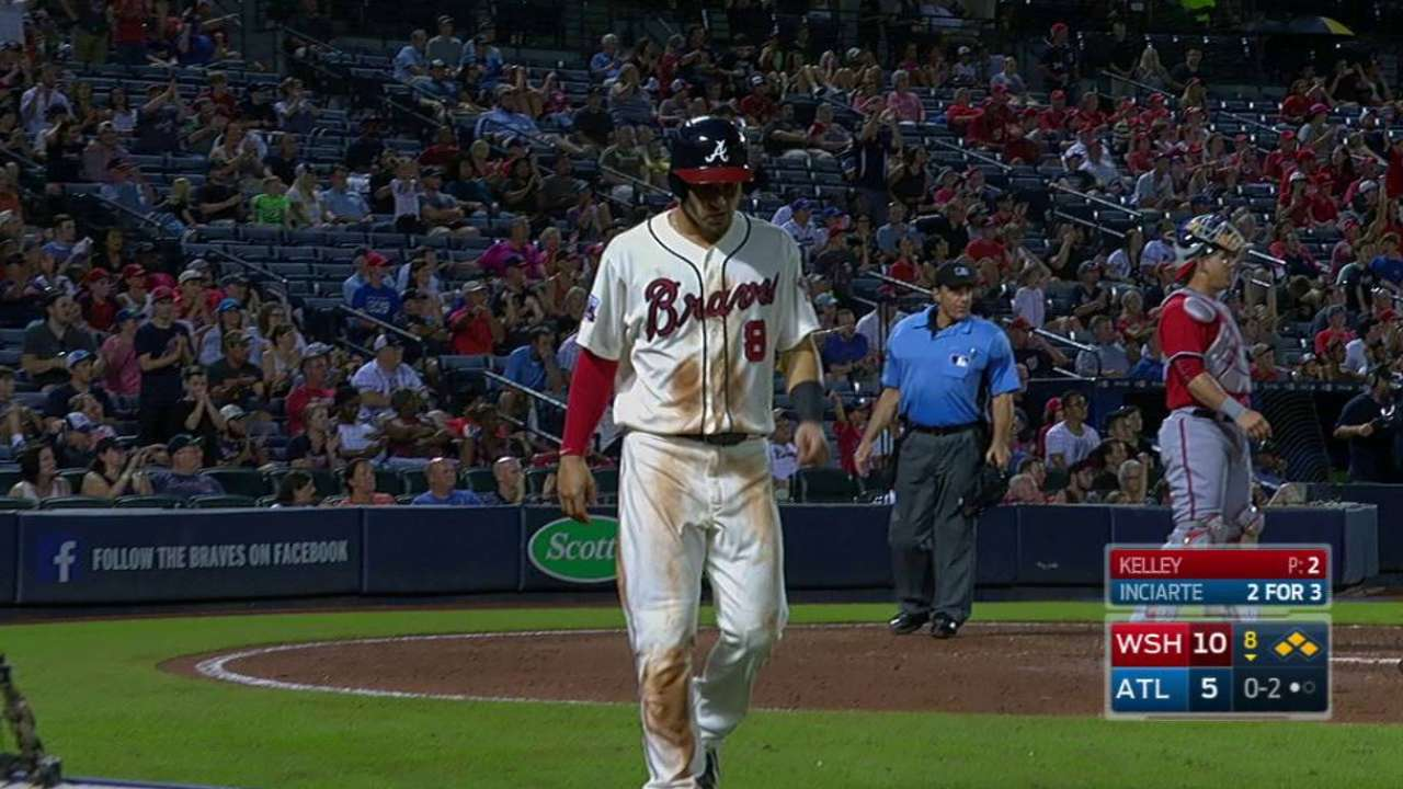 Inciarte's RBI fielder's choice