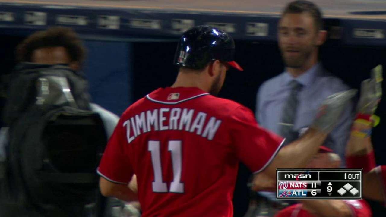 Zimmerman's sacrifice fly