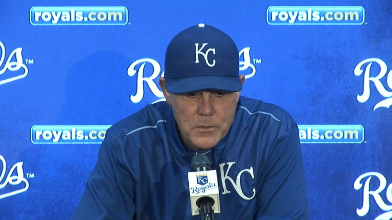 Yost on 10-0 win over Twins