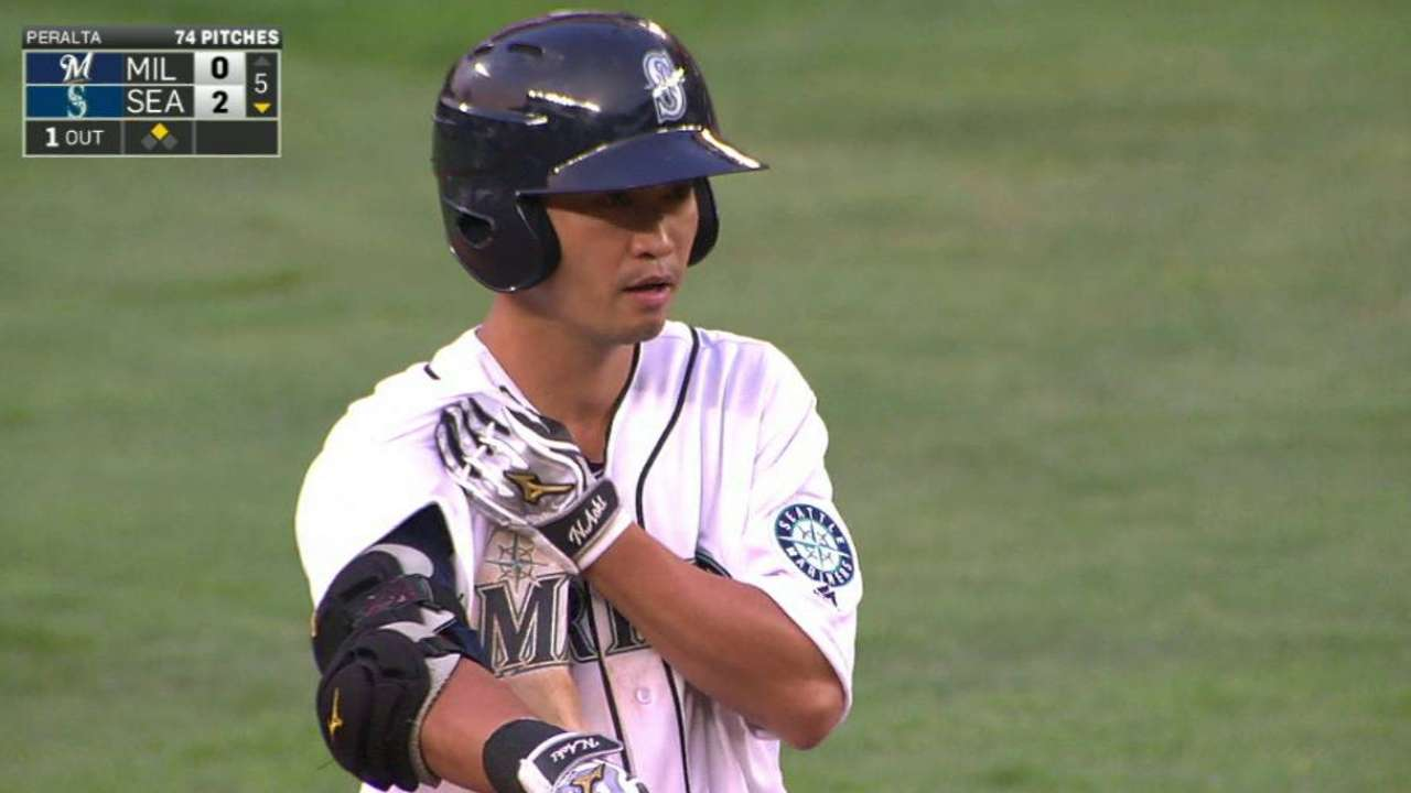Mariners recall Aoki from Triple-A Tacoma