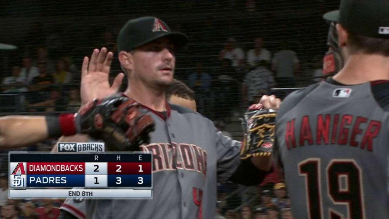 Hudson's clutch pitching