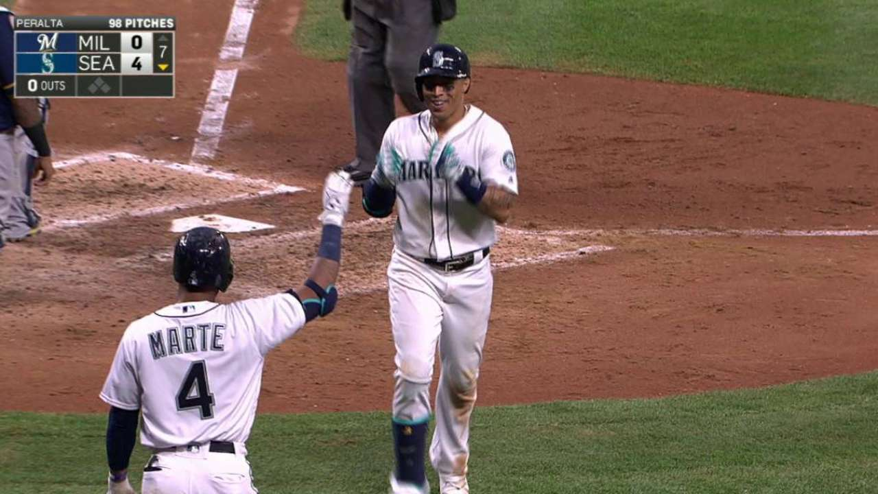 Seattle backs Felix's gem to gain in WC race