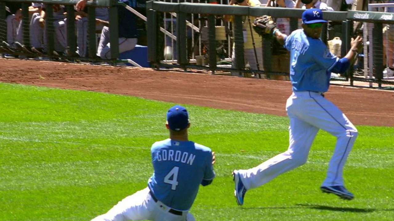 Duffy appreciates Royals' defense stepping up