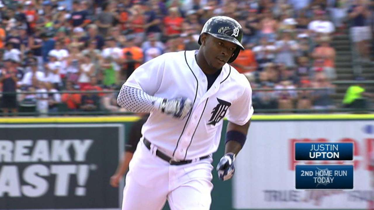 J-Up (2 3-run HRs), Tigers thump Red Sox