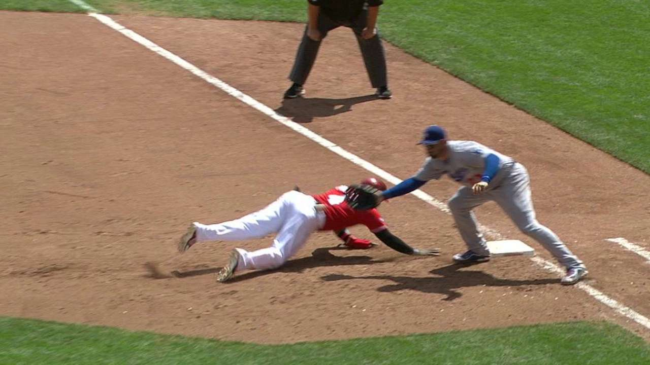 Phillips safe at first