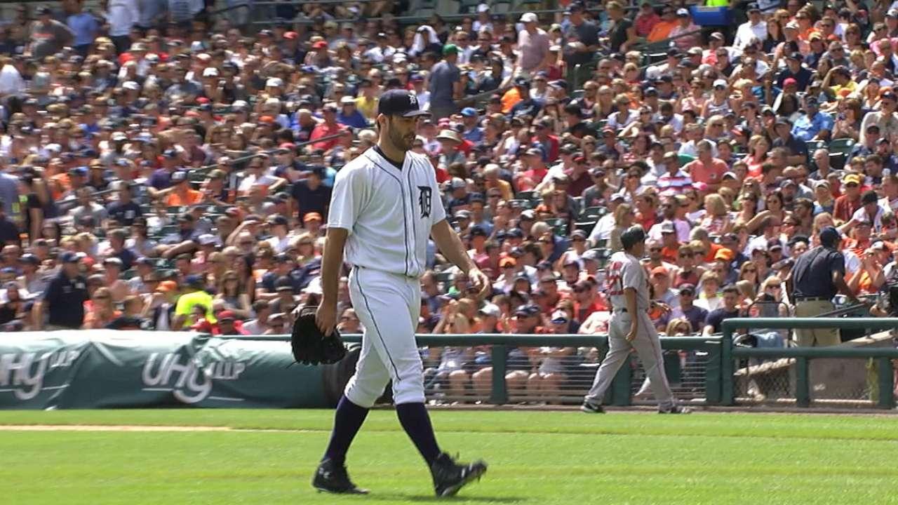 Verlander earns the win vs. Sox