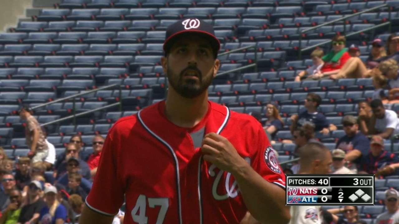 Gonzalez strikes out eight