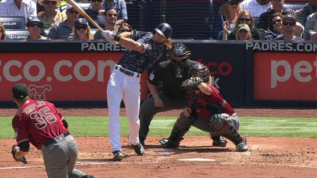 Padres' rookies making most of chances