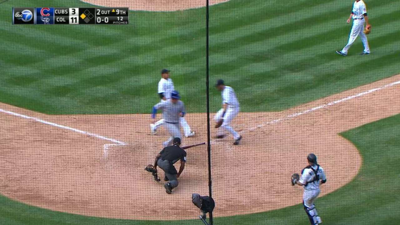 Rizzo alertly scores on popup