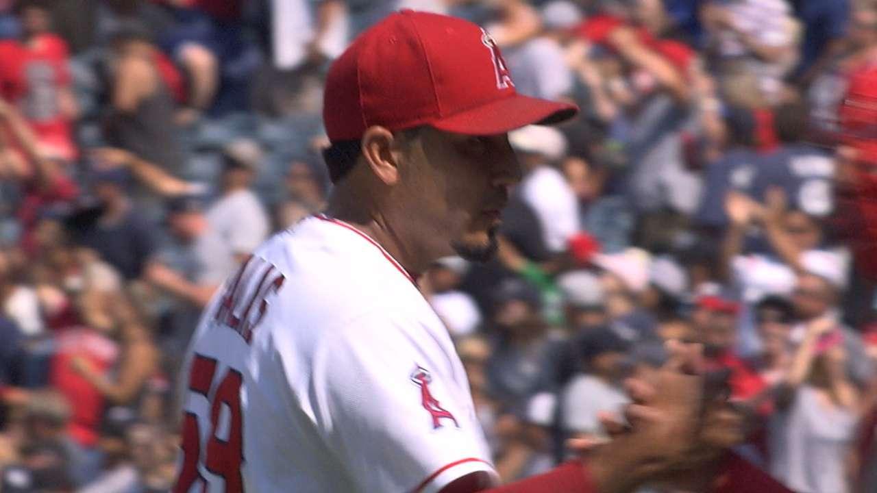 Angels bullpen shuts down Yanks