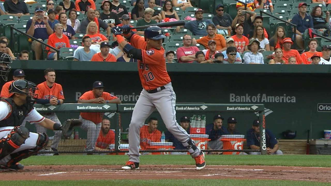Gurriel discusses debut, win