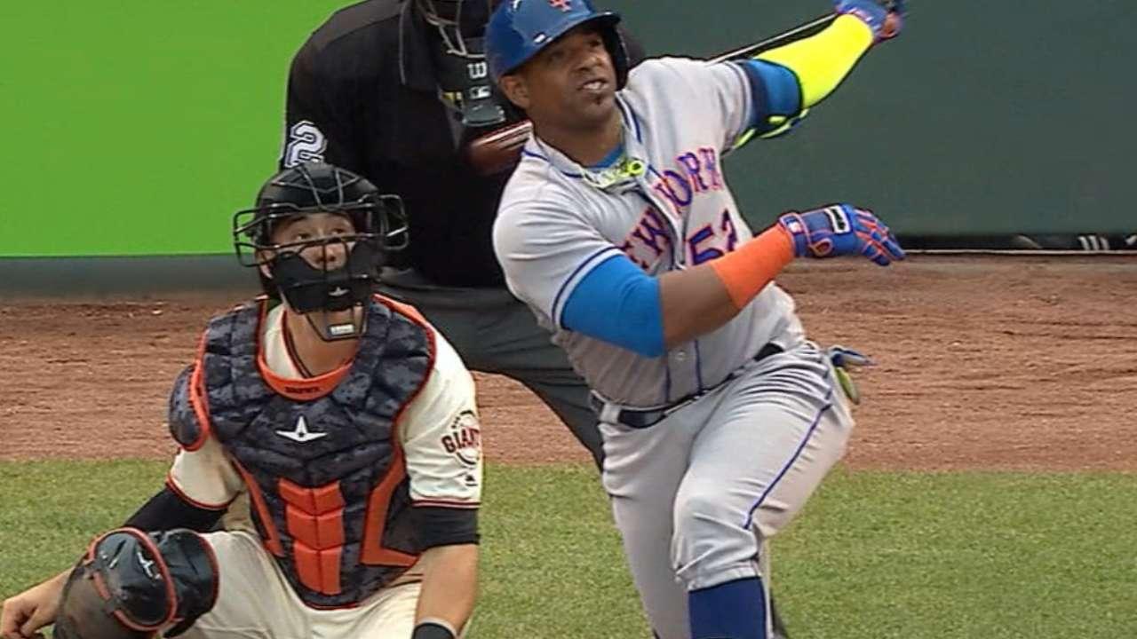 Yoenis Céspedes sigue siendo la bujía de la ofensiva de Mets
