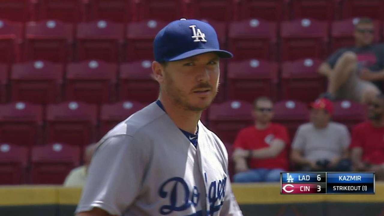 Kazmir to start Oklahoma City's first playoff game