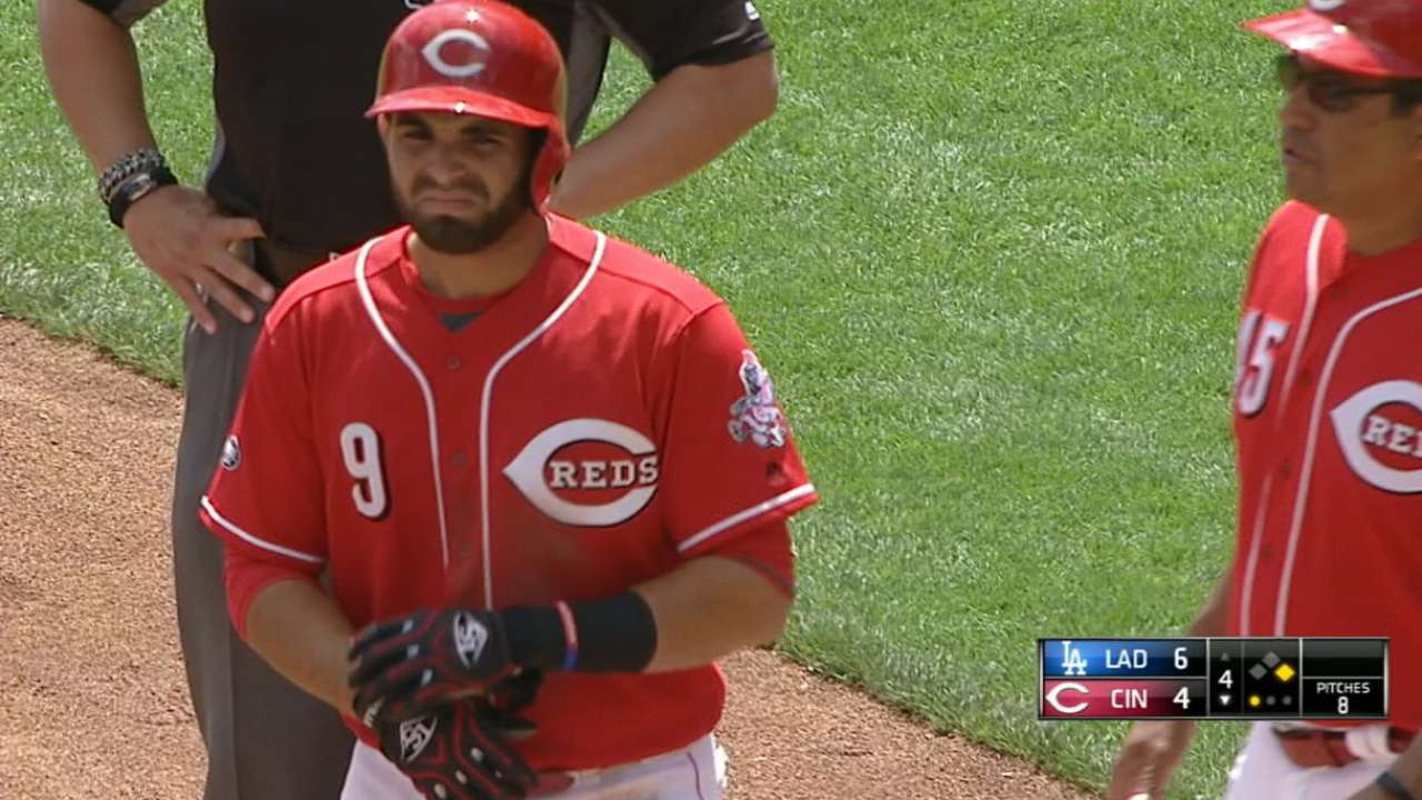 Peraza collects four hits