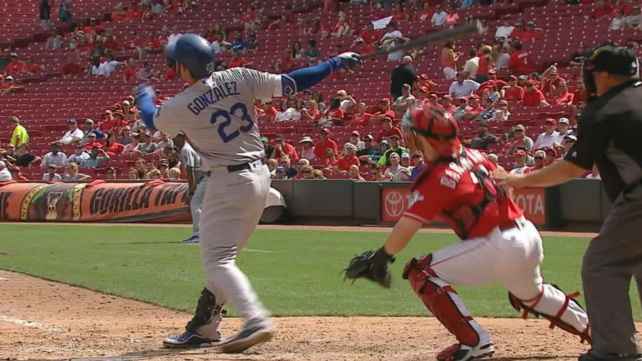 Seventh wonder: Dodgers trounce Reds