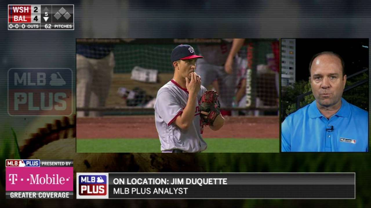 Duquette on Cole's outing