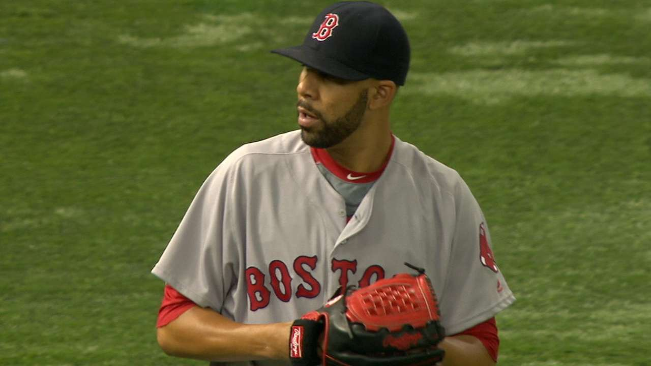Price stifles Rays as Sox join Jays atop East