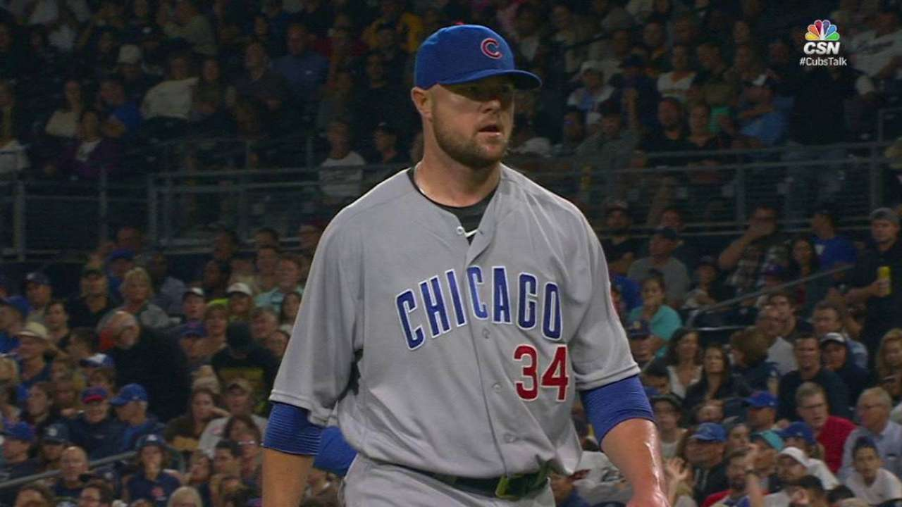Lester escapes the threat