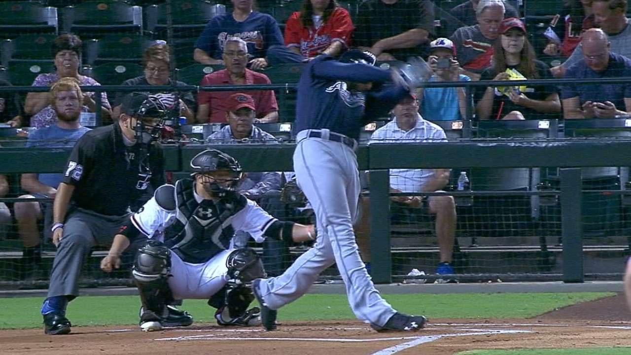 Freeman's two-homer game