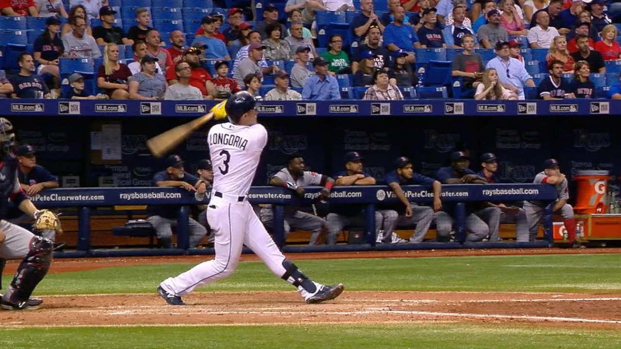 Longo slams 430-foot home run