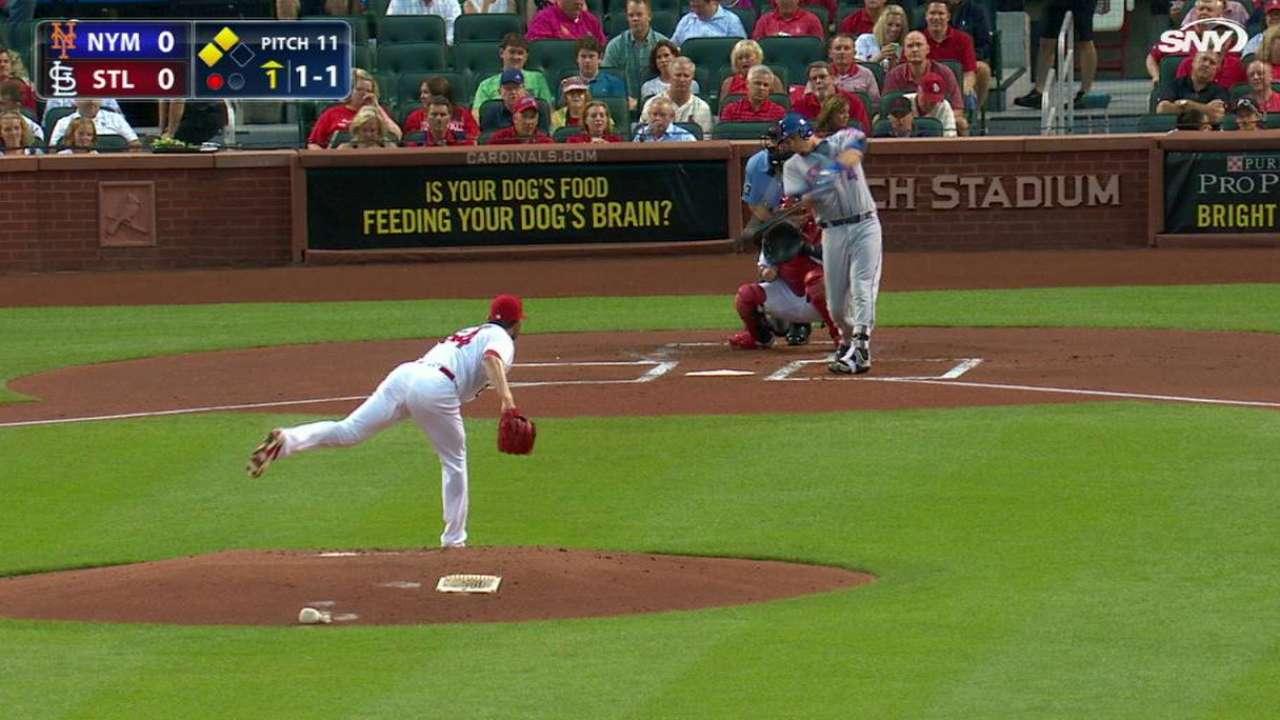 Mets doblegaron a los Cardenales a base de estacazos