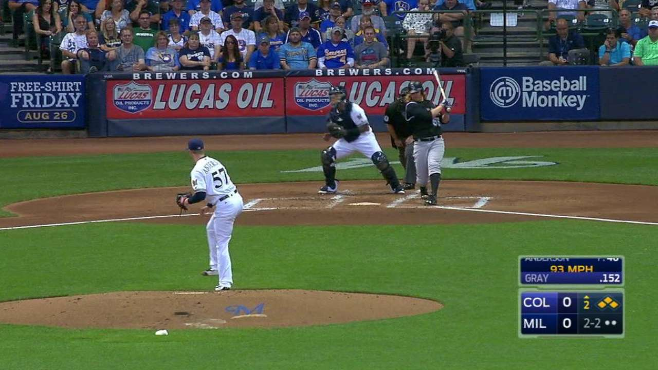 Anderson's bases-loaded K
