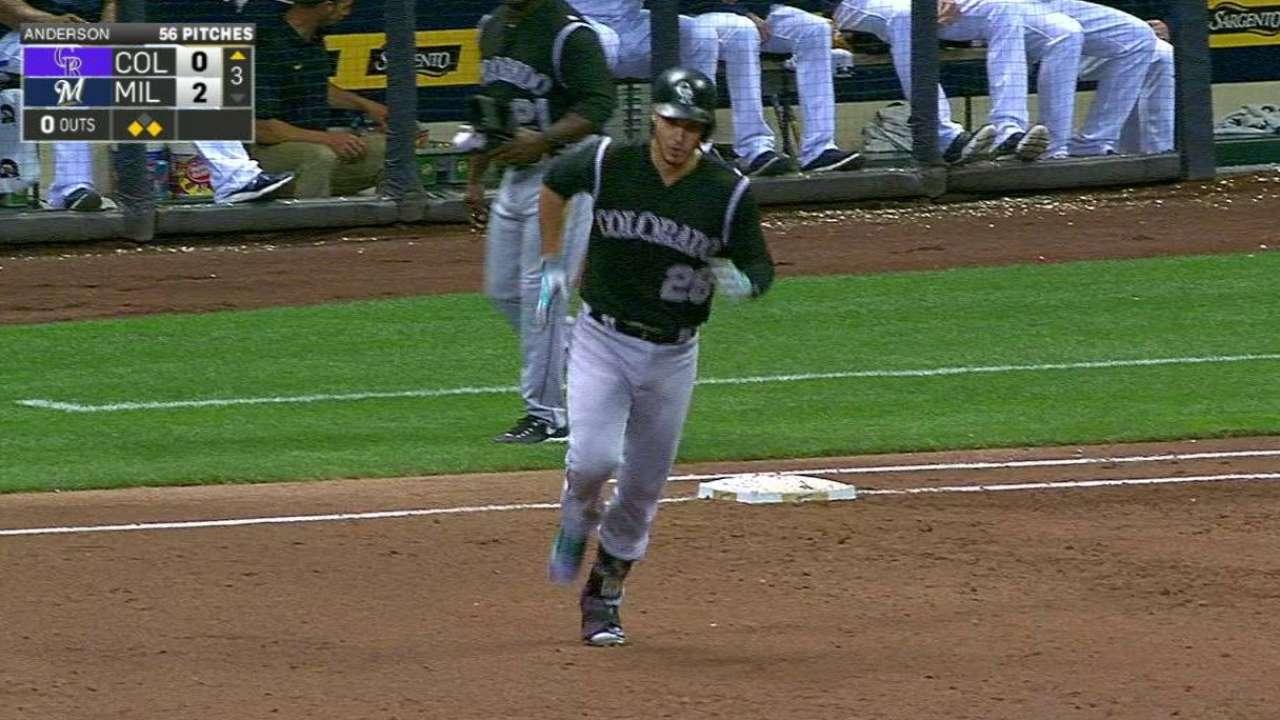 Arenado's three-run home run