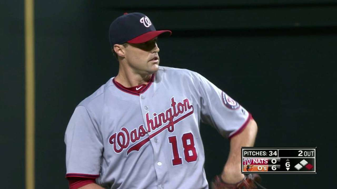 Belisle's extended outing not lost on Baker