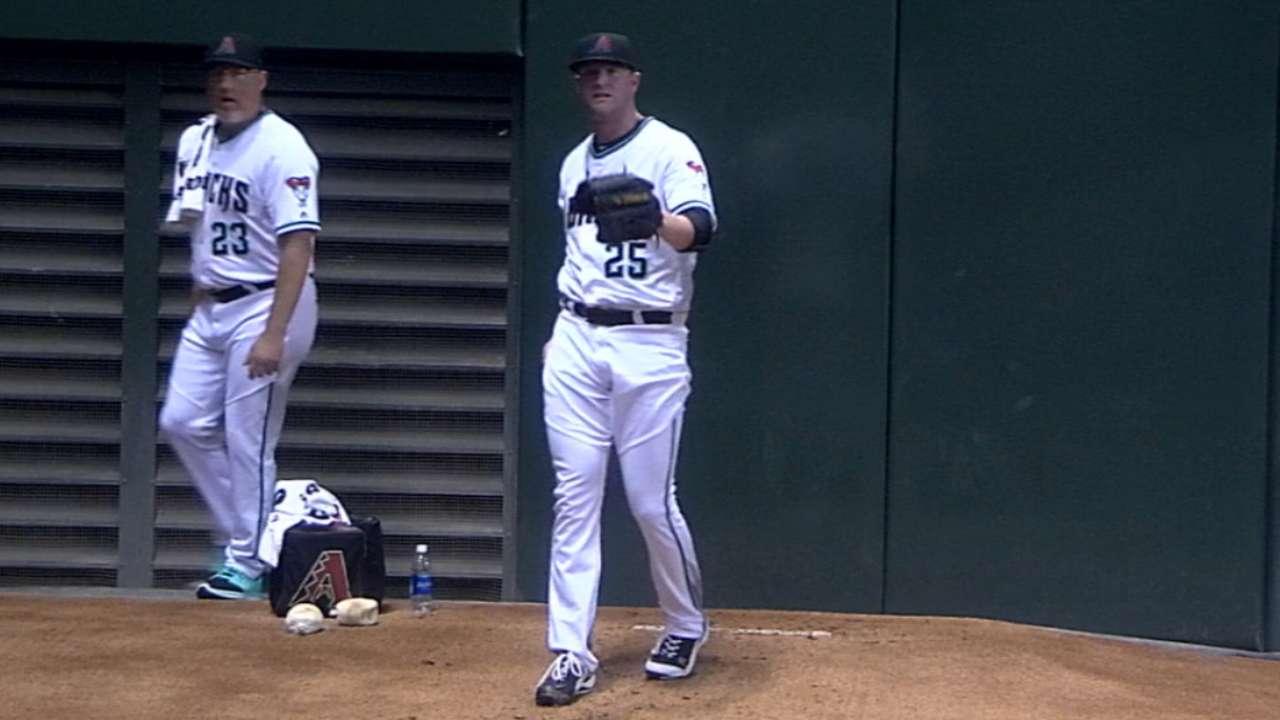 Bradley's seven strikeouts