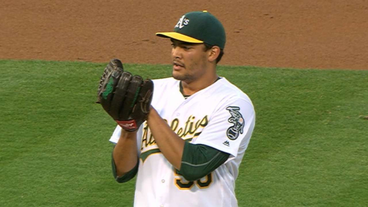 Manaea will likely return to rotation Wednesday