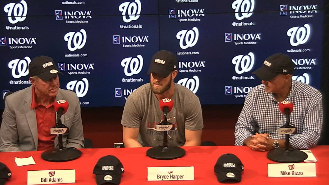 Harper unveils cap collection for charity