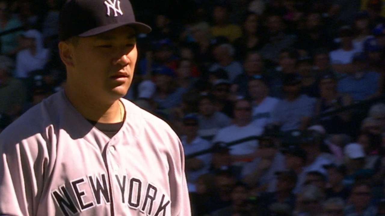 Tanaka's scoreless start