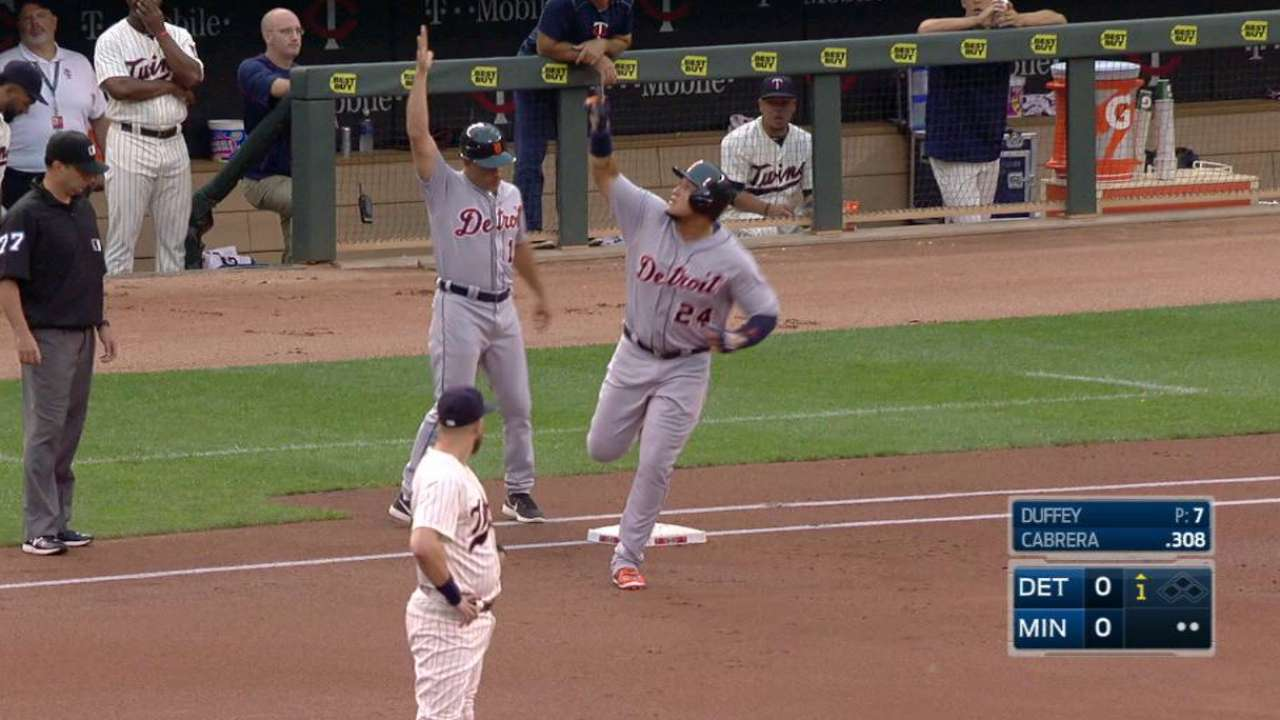 Miggy gets breather to rest sore ankle