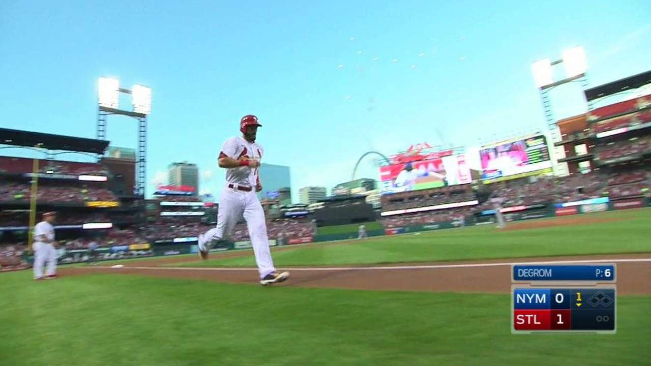Carpenter's return to leadoff spot pays off