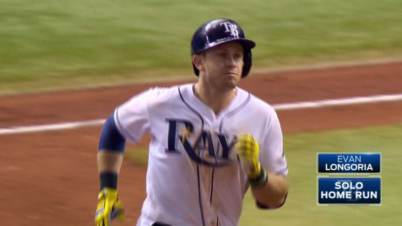 Longoria's game-tying home run