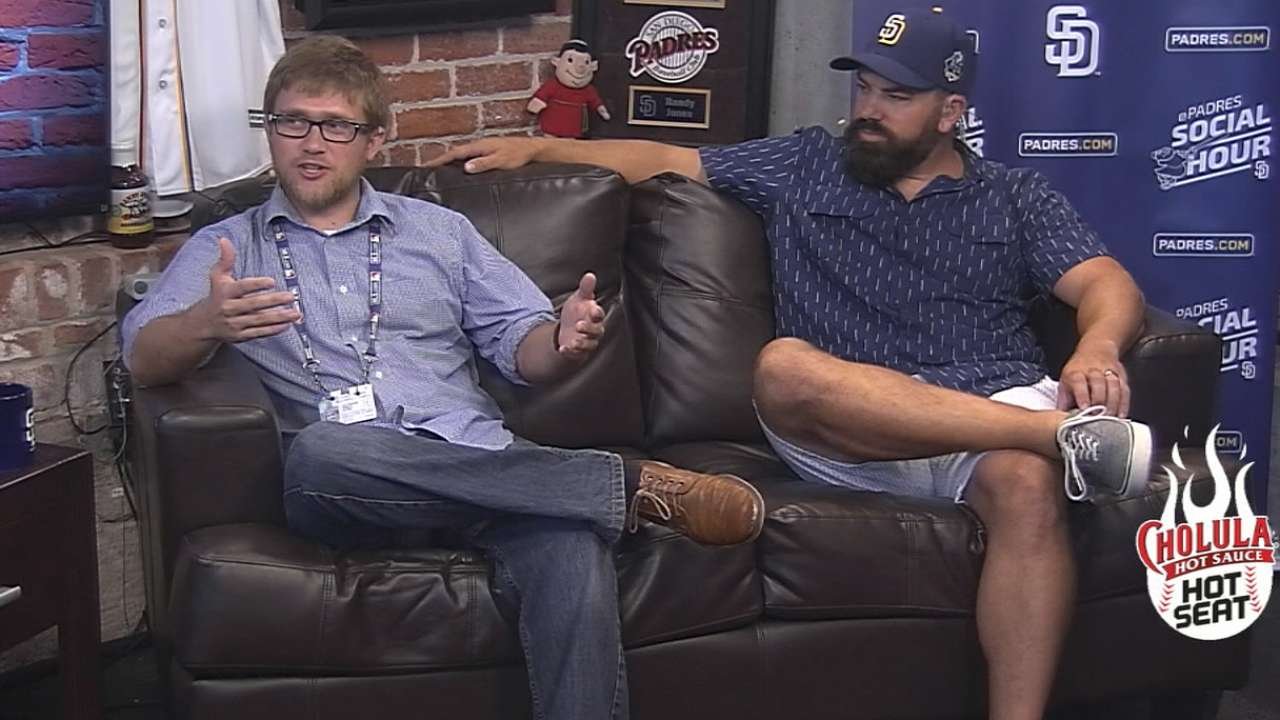 AJ Cassavell joins Padres Social Hour