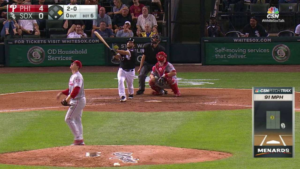 Shields' August struggles continue in loss to Phils